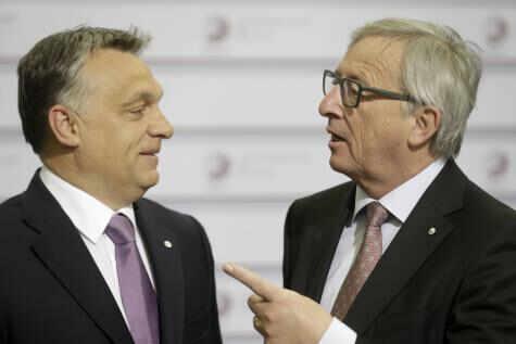 Žan-Klod Junker i Viktor Orban