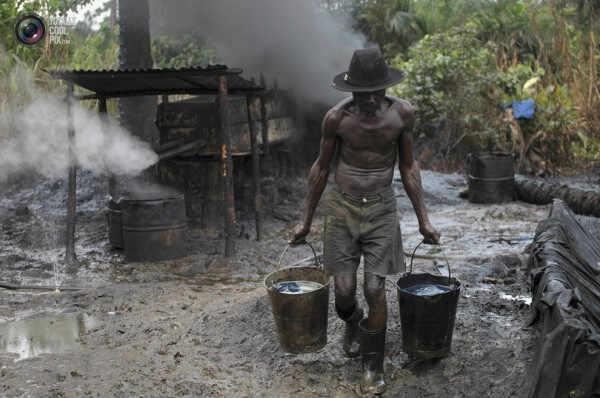Nigerija - nafta