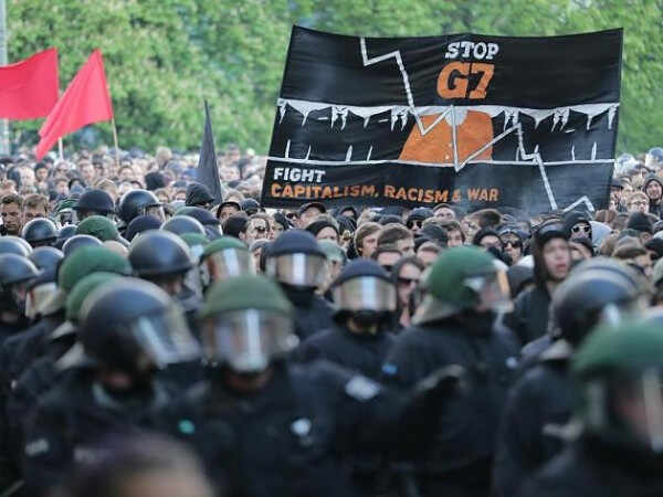 protest G7