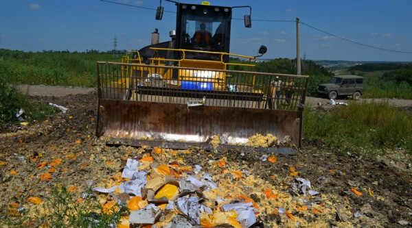 2675020 08/06/2015 Уничтожение санкционной продукции в Белгородской области.