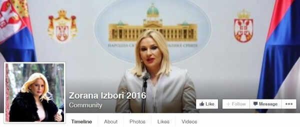 Zorana izbori 2016