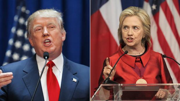 Tramp i Klintonova