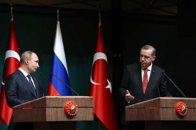 Vladimir Putin i Redžep Erdogan