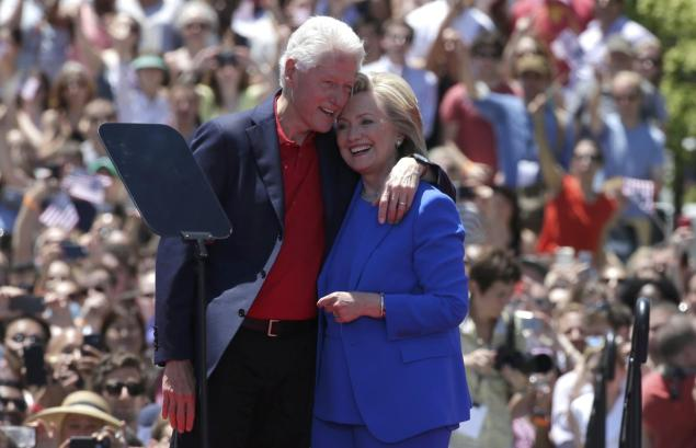 Bil i Hilari Klinton