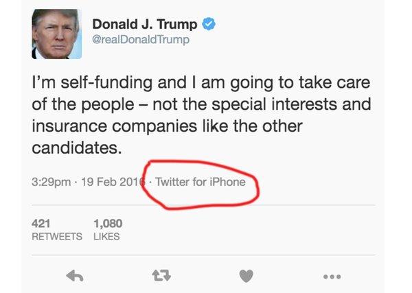 Trampov tvit