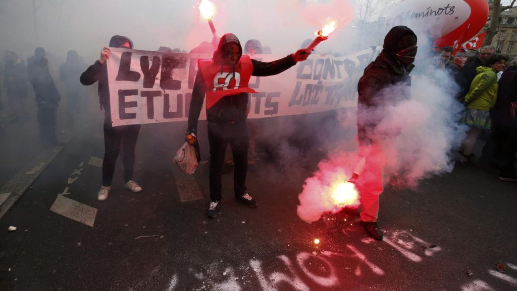 Francuska, protest