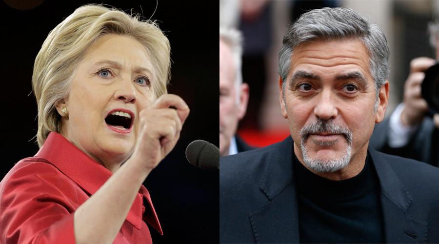 Hilari Klinton i Džordž Kluni