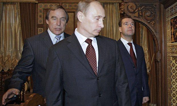 Roldugin, Putin i Medvedev