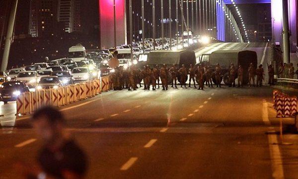 Turska, vojni puč