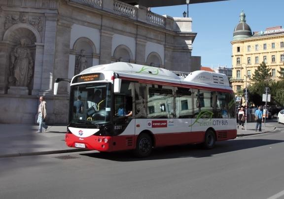 električni autobus, Beč